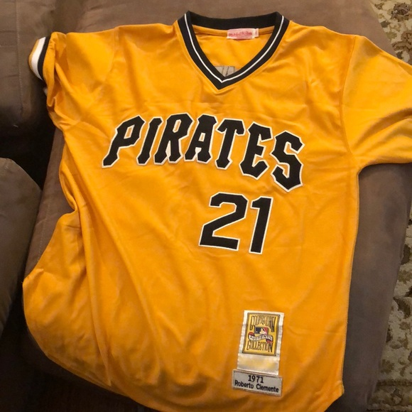 new style 34529 86688 Roberto Clemente Pirates Jersey #21